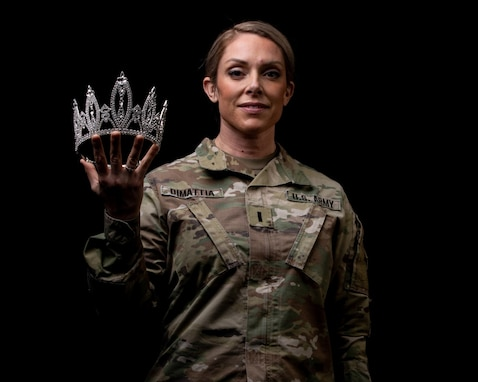 1st Lt. Angela DiMattia, aka Ms. Colorado, credits Army, competitive nature to her success