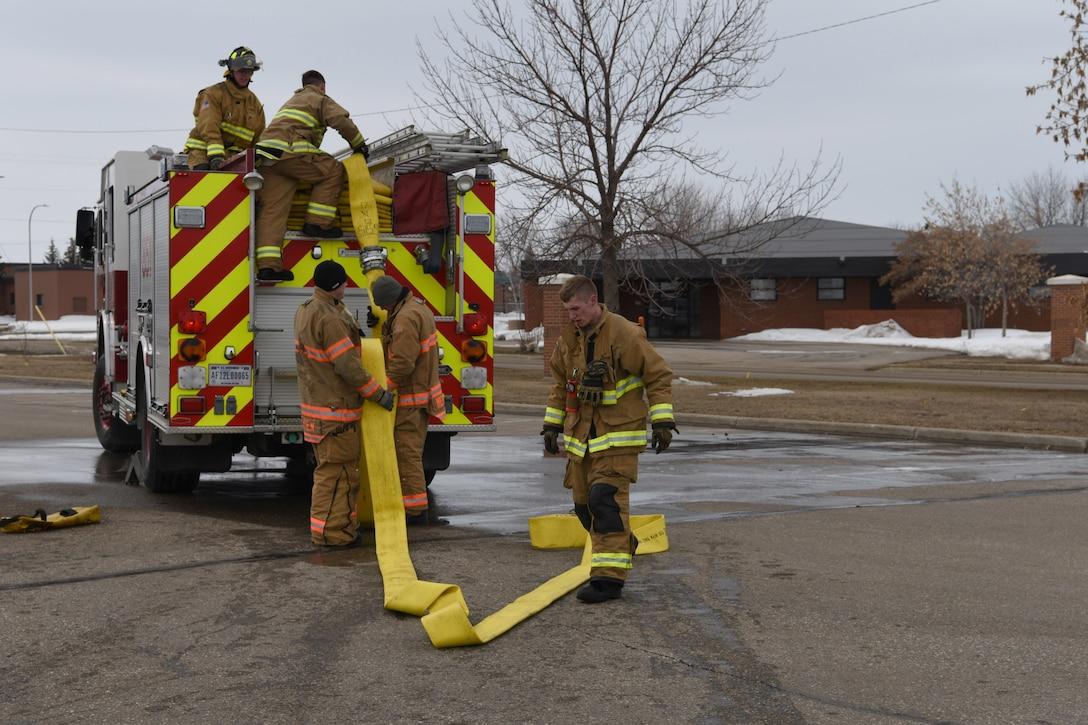 Team Minot Firefighters