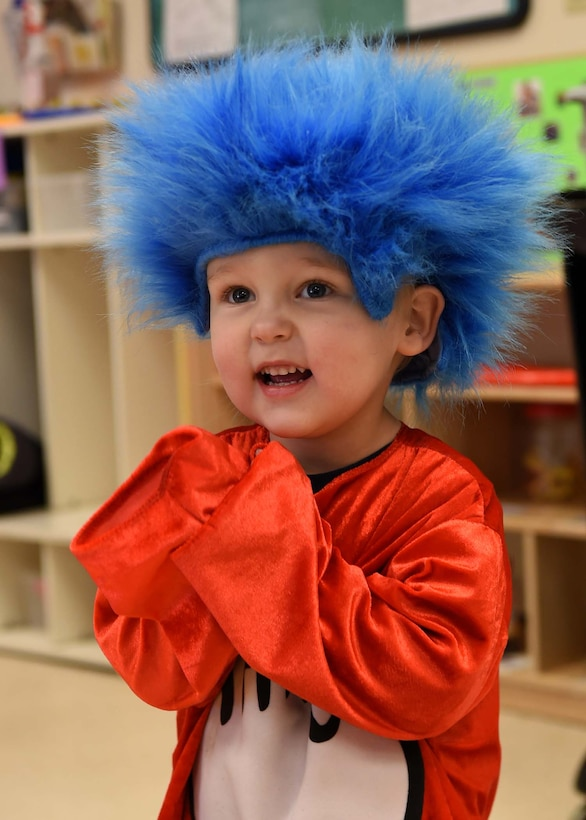 The Child Development Centers on Buckley Air Force Base celebrated Read Across America March 1st, 2019. The children spent the day learning the importance of reading and participated in Dr. Suess themed activities such as themed snack time and a poster decorating competition.