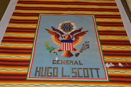 A 100-year-old serape given to U.S. Army Gen. Hugh Scott from famed Mexican Revolution leader Pancho Villa in the mid-1910s will be put on display next to an exhibit at the Fort Sam Houston about Villa, the Mexican Revolution (1910-20), the relationship between Villa and the U.S. and the troubles along the U.S.-Mexico border during that time period. The display of the serape is one of several updates and additions the museum is making to its exhibits this year.