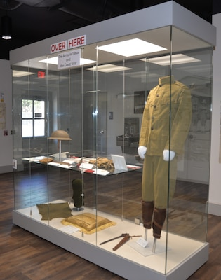 An exhibit focusing on the Army in Texas during World War I at the Fort Sam Houston Museum. The museum will be updating current exhibits and installing new exhibits throughout the year to give visitors a more complete, detailed history of Joint Base San Antonio-Fort Sam Houston.