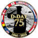 D-Day 75 Logo (US EUCOM)