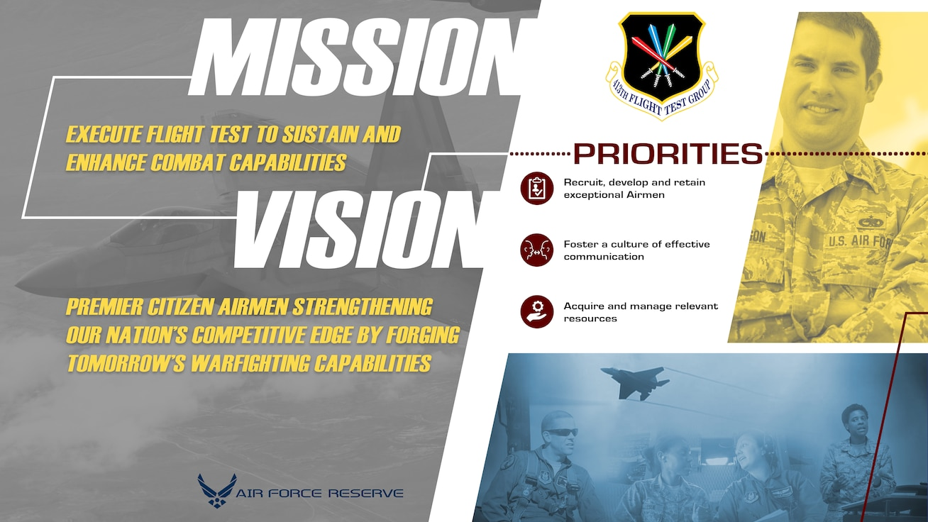 New mission, vision and priorities