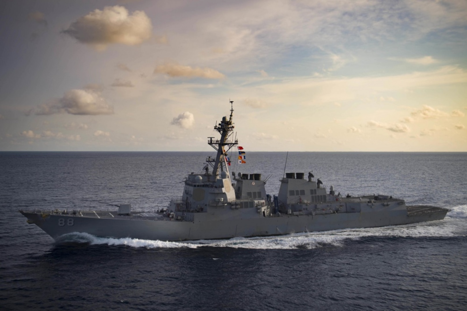 USS Preble Visits Thailand during Indo-Pacific Deployment