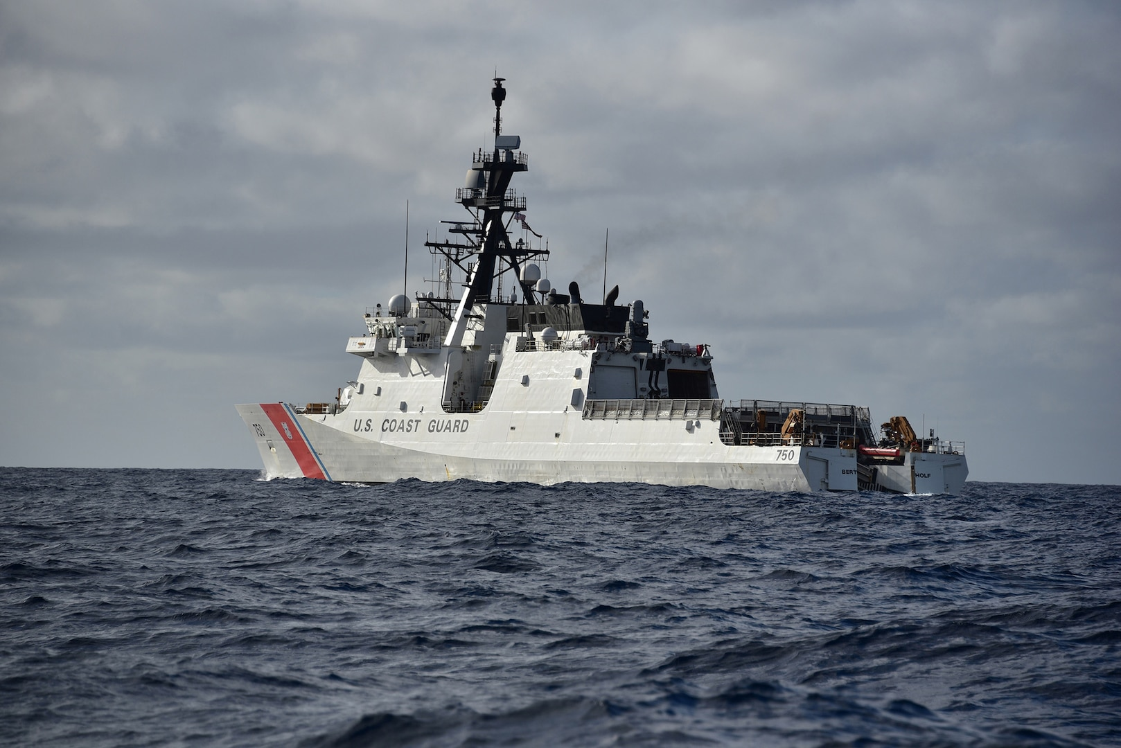 U.S. Coast Guard Enforces North Korea Sanctions in the East China Sea