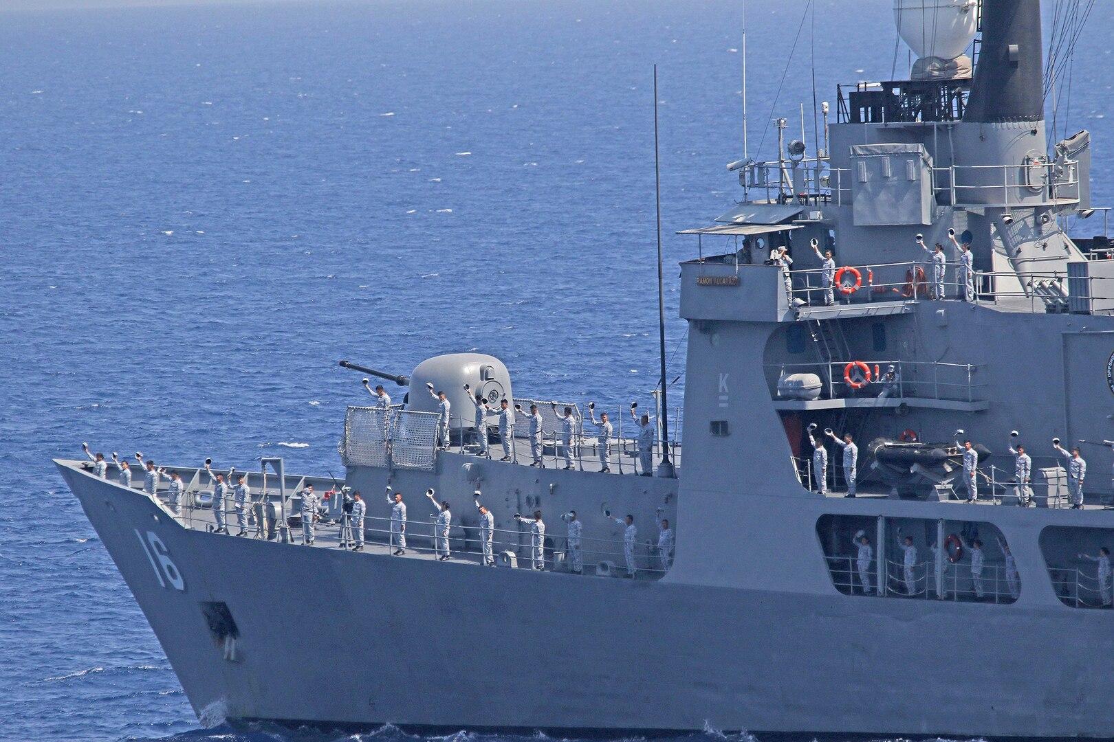 US, Philippine Navies Sail from Manila Bay