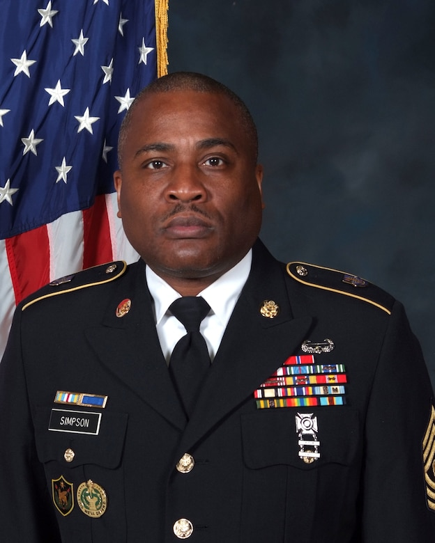 Command Sergeant Major Anthony L. Simpson