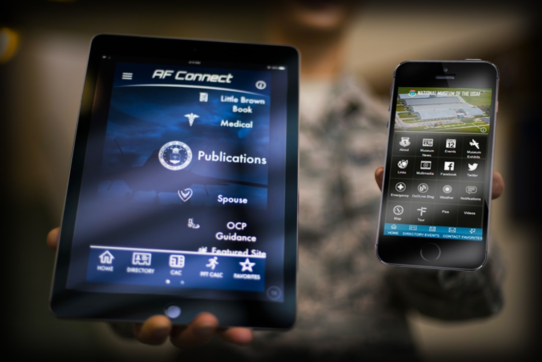 DAYTON, Ohio -- The USAF Connect mobile app has everything you need to stay in touch and up to date with the National Museum of the U.S. Air Force. This provides easy access to visitor info, exhibit info, event calendar, aviation trivia, social media and more!