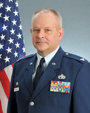 This is the official portrait for Col. Joseph M. Revit, 94th Airlift Wing Mission Support Group commander. (U.S. Air Force photo/Staff Sgt. Andrew Park)