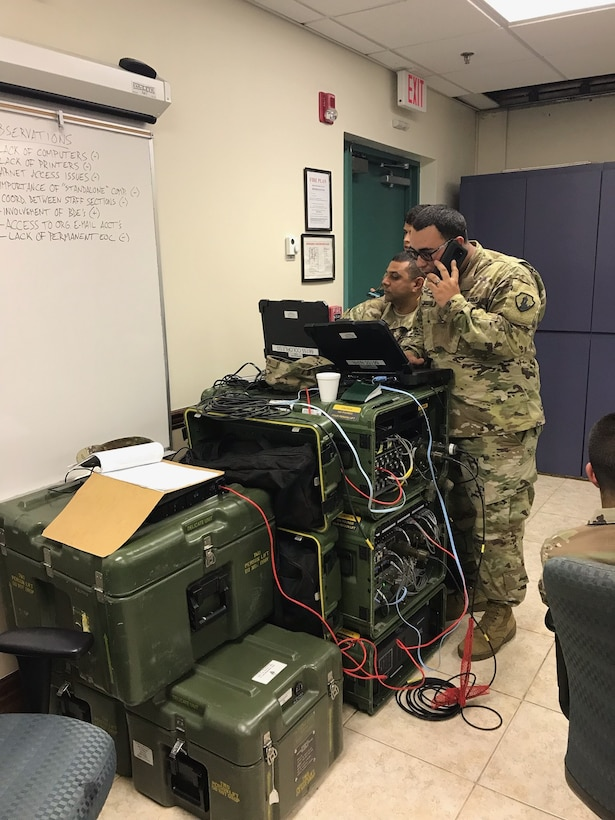 U.S. Army Reserve-PR units prove to be key during Vigilant Guard Exercise