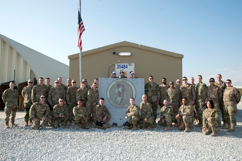 The 455th Expeditionary Communications Squadron recently won the Lieutenant General Harold W. Grant Small Unit of the Year Award for 2018. She squadron is the Air Force's only communications unit in Afghanistan and services military installations in Bagram, Kandahar, Jalalabad and Kabul. (U.S. Air Force photo by Senior Airman Rito Smith)