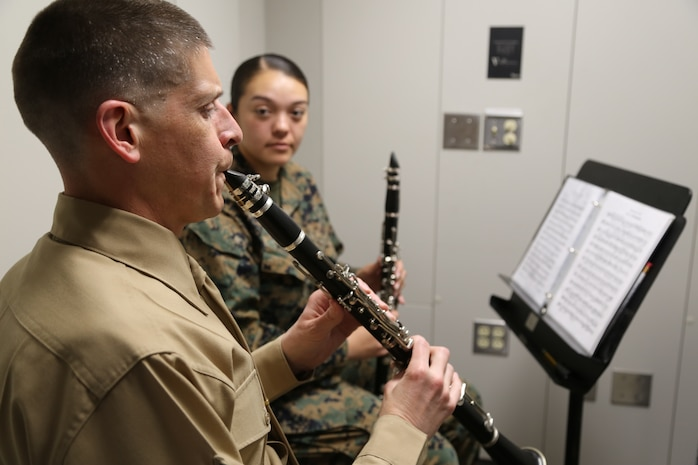 Master Classes with the Parris Island Marine Band