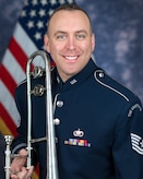 Technical Sergeant Andrew Reich serves as trombonist with the Ceremonial Brass, The United States Air Force Band, Joint Base Anacostia-Bolling, Washington, D.C. A native of Lexington, South Carolina, he joined the Air Force in 2017 to become a member of the U.S. Air Force Heritage of America Band at Joint Base Langley-Eustis, Virginia.