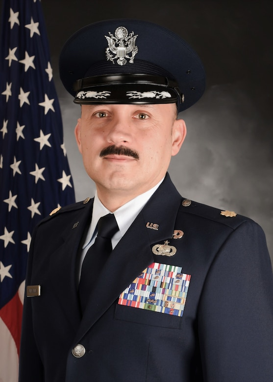 U.S. Air Force Maj. Jose Quintanilla