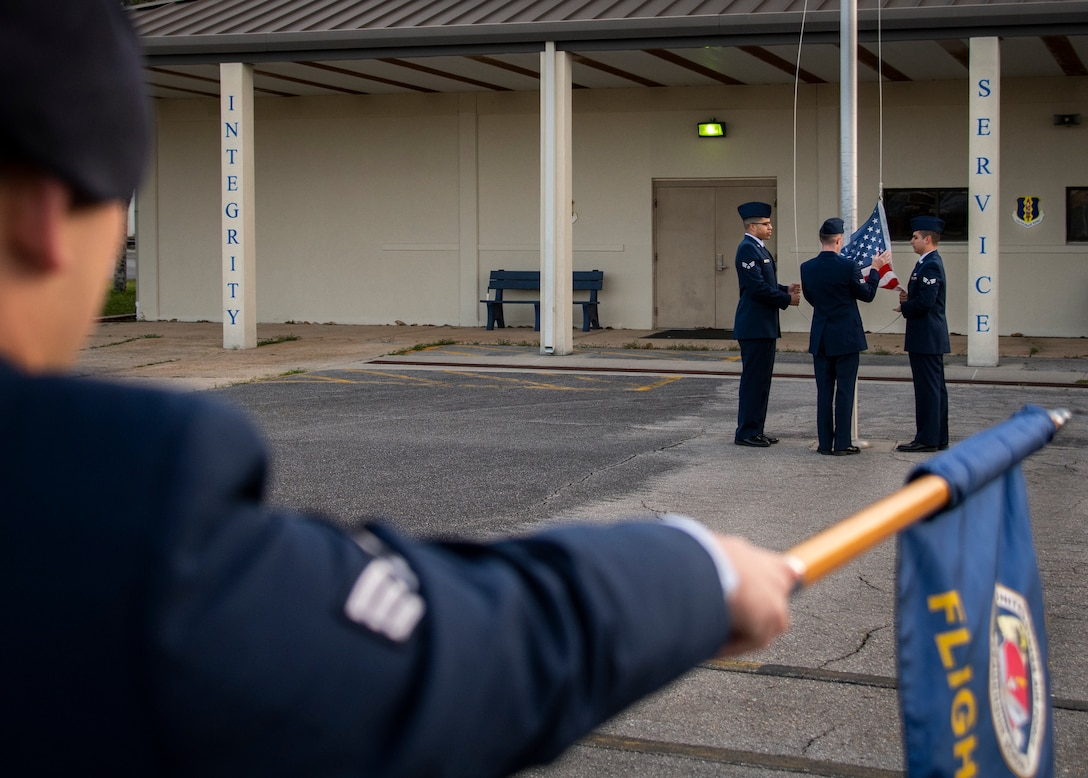 Airman Leadership School morning