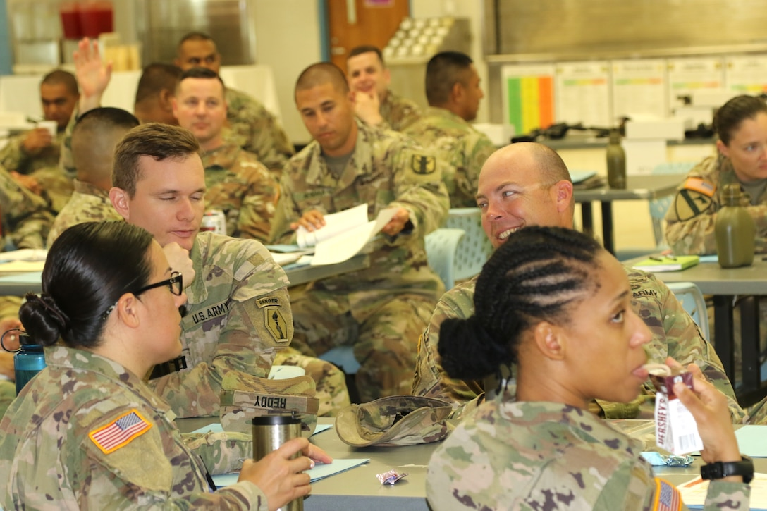 """Army Reserve leaders test their Battle Assembly skills at """"How to BA Day"""""""