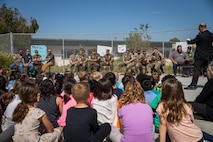 Santa Margarita Elementary School students show their gratitude