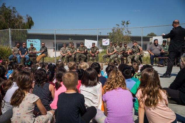 Santa Margarita Elementary School students show their gratitude