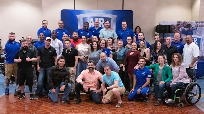 eam Air Force for the 2019 Department of Defense Warrior Games in Tampa, Fla. are ready for the upcoming competition.