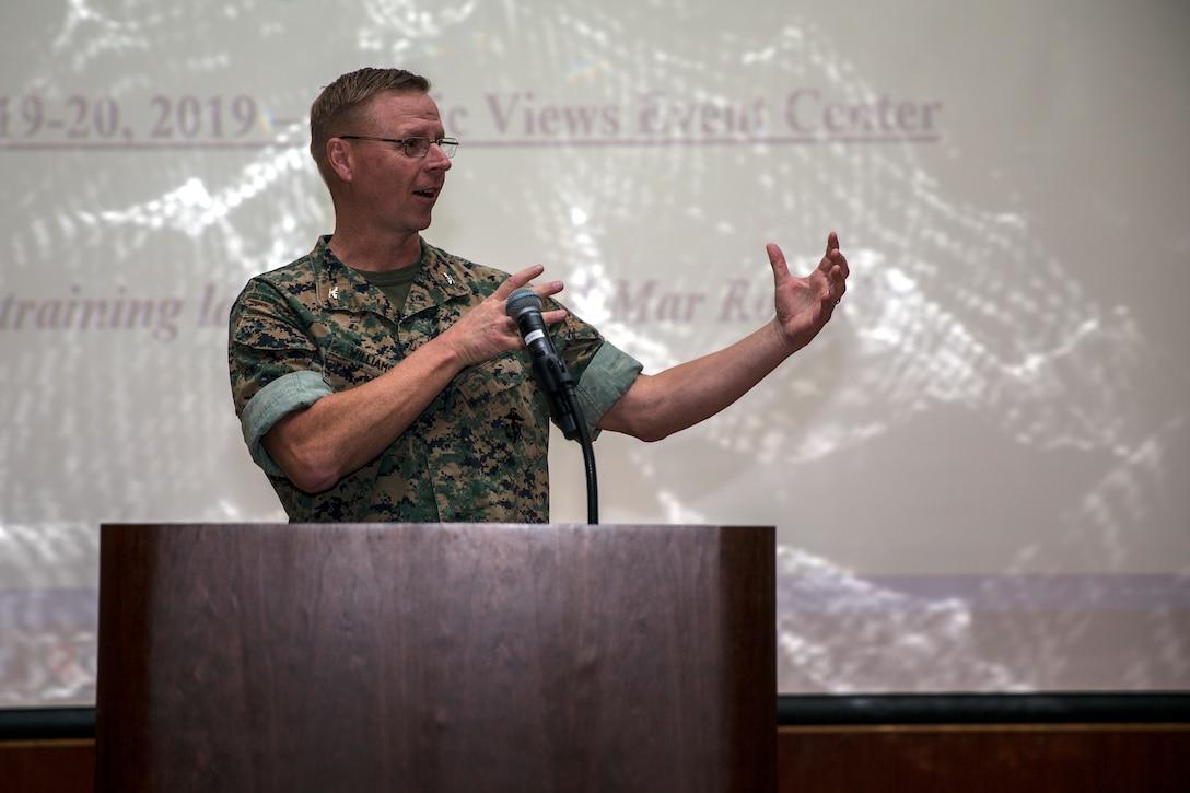 Marine Corps Base Camp Pendleton hosts the annual Environmental Law Training Symposium