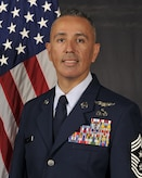 Chief Master Sergeant Heriberto Diaz is the Command Chief, 521st Air Mobility Operations Wing, Ramstein Air Base, Germany.