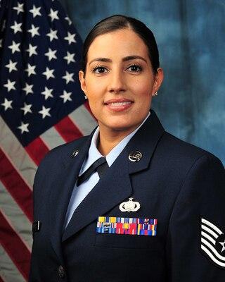 Air Force Master Sgt. Dessie Rodriguez is a Logistics Career Broadener