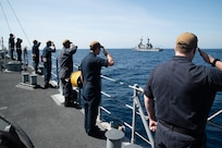 Chief, part of Mine Countermeasures Squadron 7, is operating in the Indo-Pacific region to enhance interoperability with partners and serve as a ready-response platform for contingency operations.