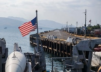 Pioneer, part of Mine Countermeasures Squadron 7, is operating in the U.S. 7th Fleet area of operations to enhance interoperability with partners and serve as a ready-response platform for contingency operations.