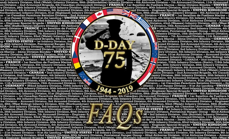 D-Day FAQs Image/Button