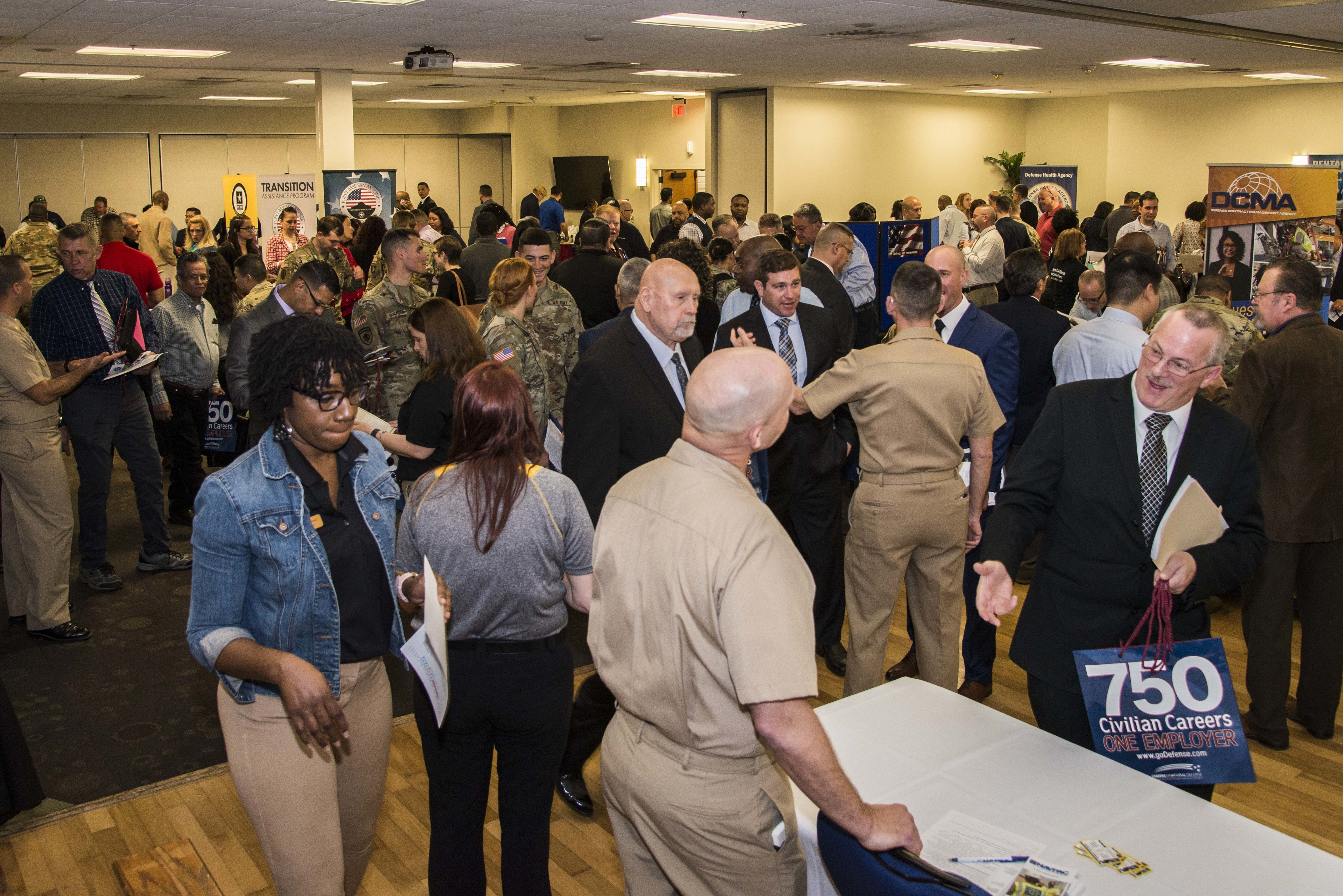 Hiring Heroes Career Fair Draws Hundreds Of Attendees