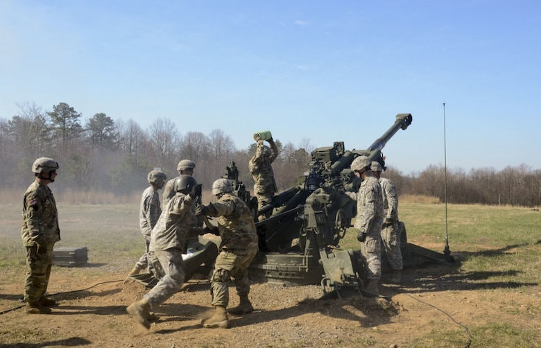Artillery training at Fort Indiantown Gap [Image 1 of 3]