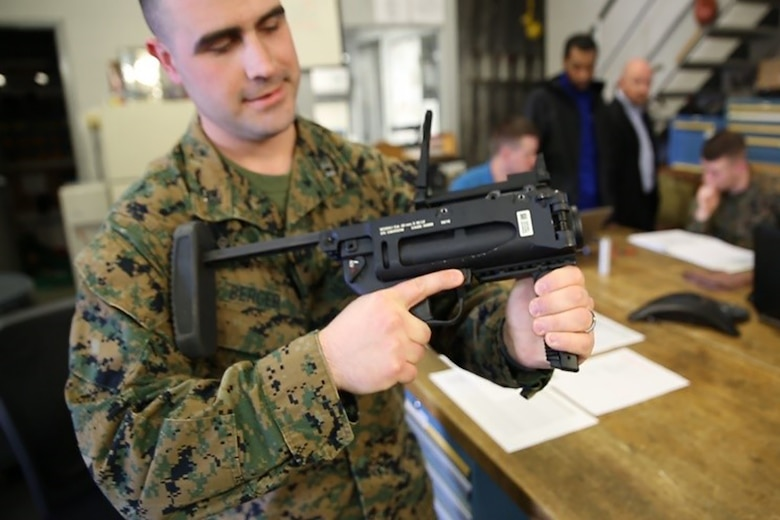 Marines perform 'arduous' evaluation of new grenade launcher