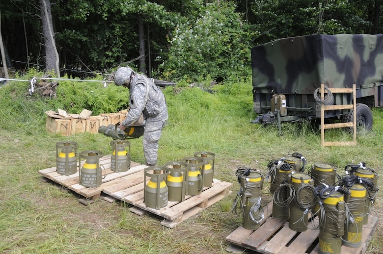 February 2019 mortar and demolitions training at Fort Indiantown Gap