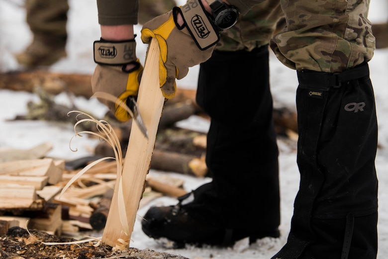 The five-day course teaches the basic survival skills such as preparing fire wood, building a fire with minimal tools and resources, catching food and signaling methods.