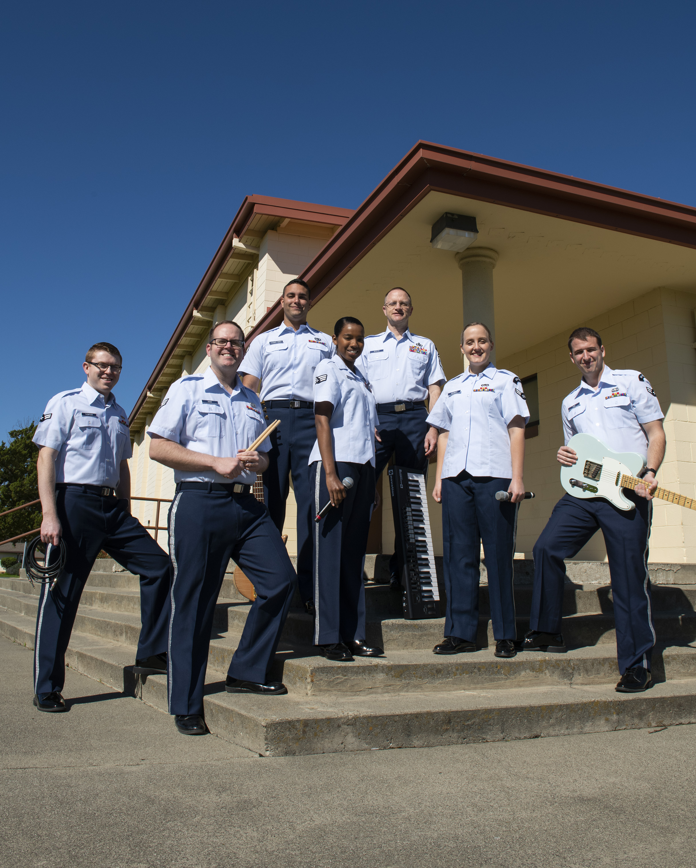 Deploying the Air Force band? It makes more sense than you