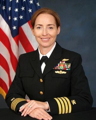 Navy Capt. Michelle Skubic