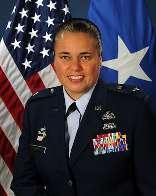 Air Force Brig. Gen. Linda Hurry