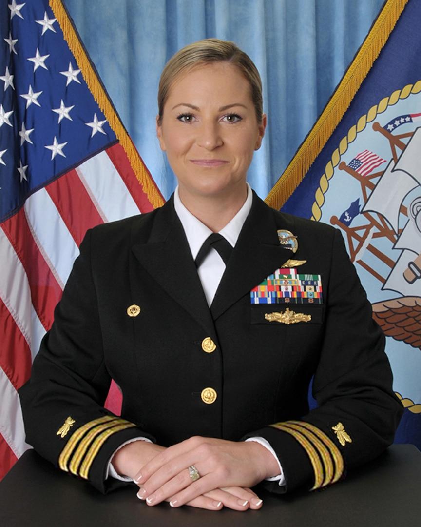 Navy Cmdr. Monica Frey