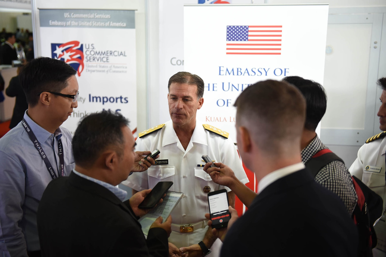 U.S. Pacific Fleet Commander Promotes Mutual Respect, Partnerships during LIMA Exhibition
