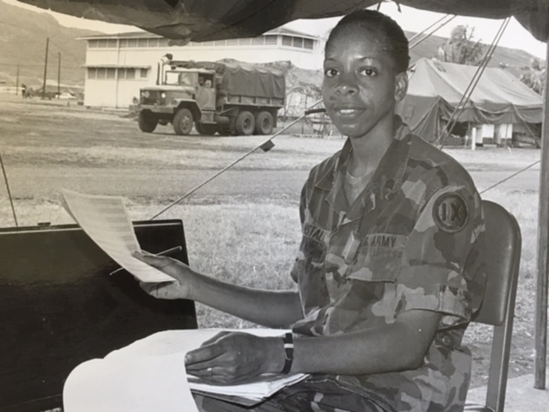 Army Reserve Soldier's personal contribution to women's history
