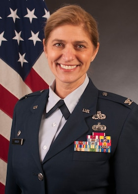 Col. Virginia Gaglio official photo.
