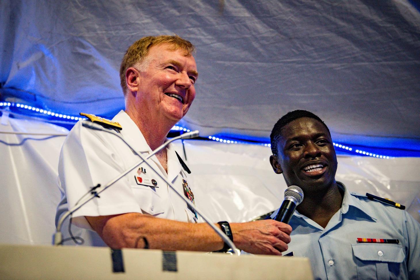 Adm. Foggo Visits Lagos, Nigeria