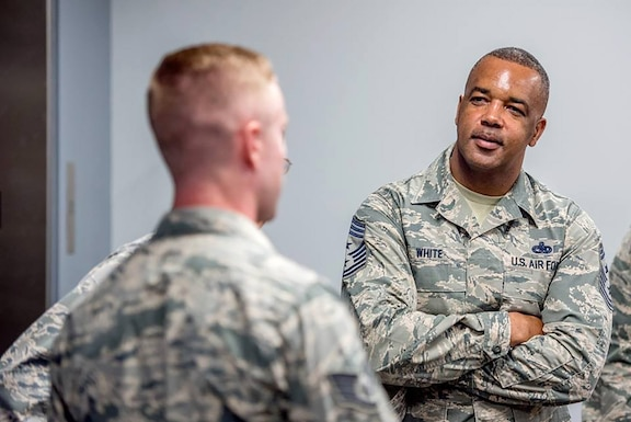 Chief Master Sgt. Timothy White is Air Force Reserve Command's new command chief master sergeant. (Courtesy photo)