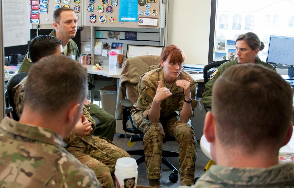 AFPC hosts Squadron Commander Course