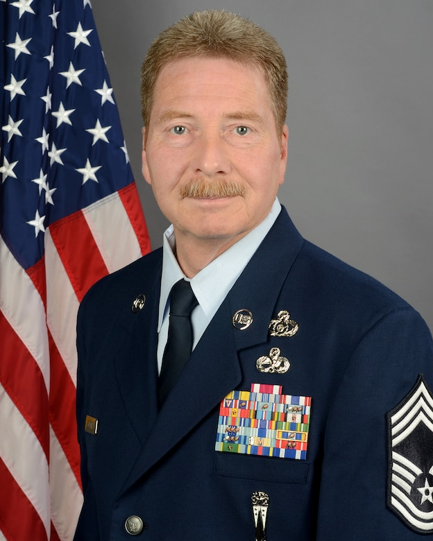 Chief Master Sgt. William Clark, 169th Fighter Wing weapons safety manager