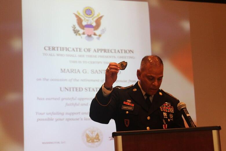 Caribbean Top U.S. Army Reserve NCO retires
