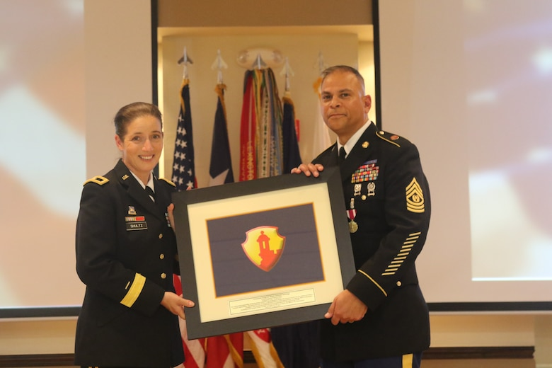 Caribbean Top U.S. Army Reserve NCO retires
