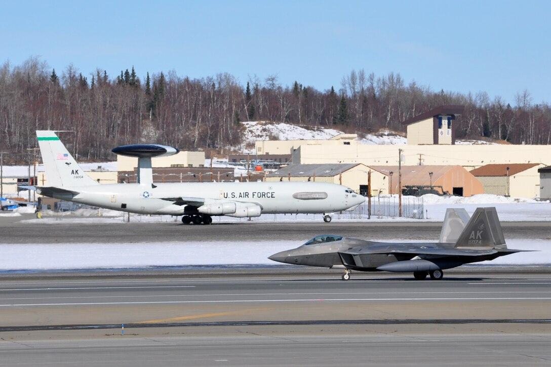 JBER F-22s Demonstrate Combat Capabilities