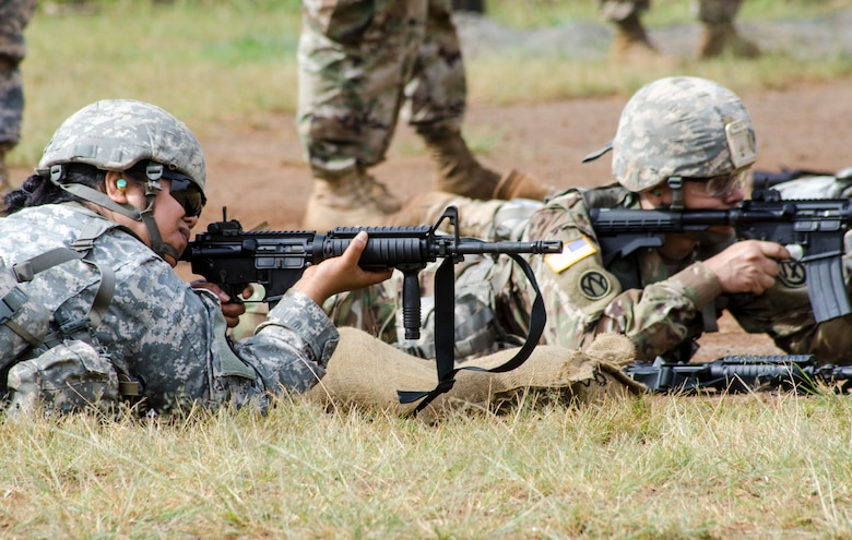 Army Reserve marksmanship on target with 9th Mission Support Command