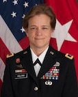 Brig. Gen. Diana Holland, South Atlantic District commander of the U.S. Army Corps of Engineers.